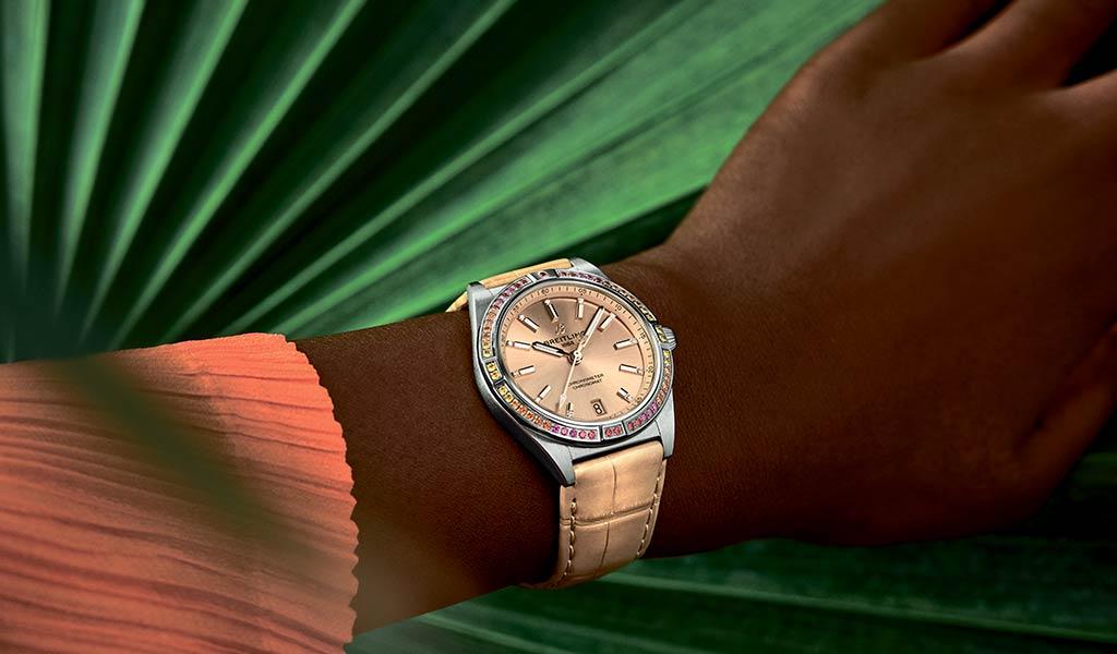 Новые часы Chronomat Automatic 36 South Sea