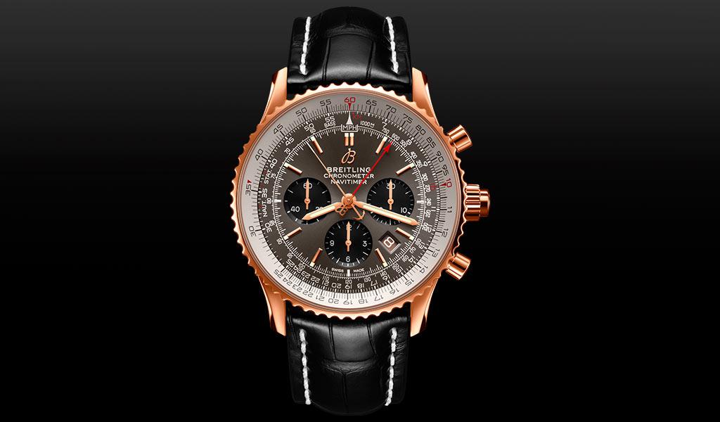Часы Breitling Navitimer B03 Chronograph Rattrapante 45