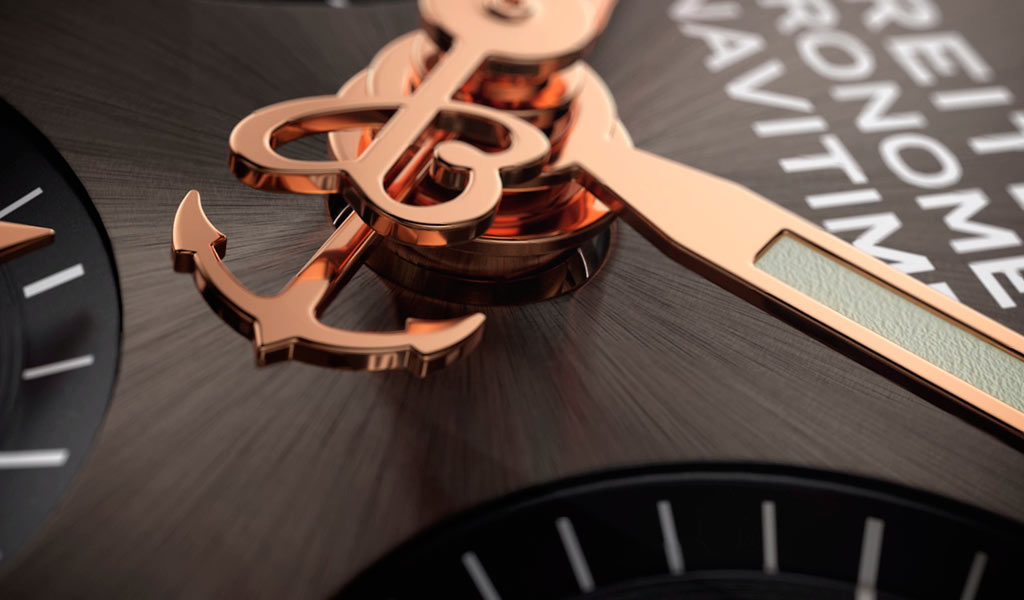 Сплит хронограф Breitling Navitimer B03 Chronograph Rattrapante 45
