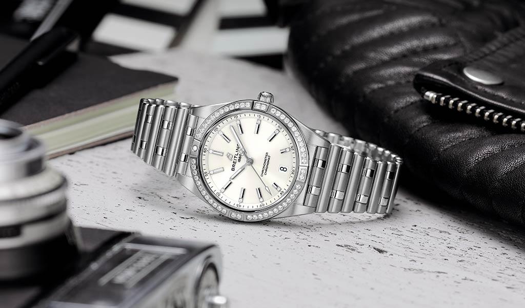 Новые женские часы Chronomat Breitling