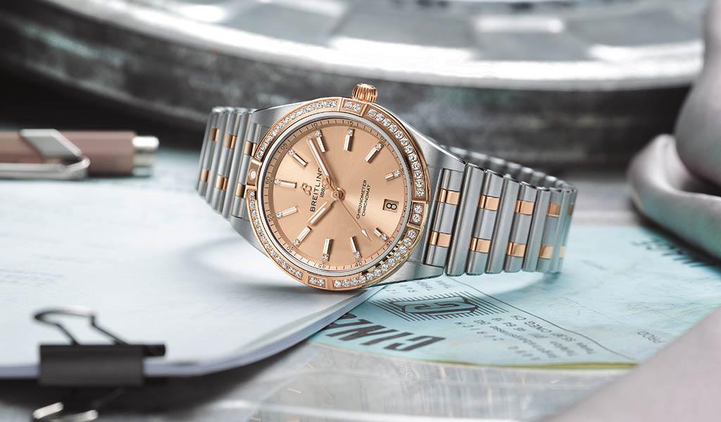 Новые женские часы Breitling