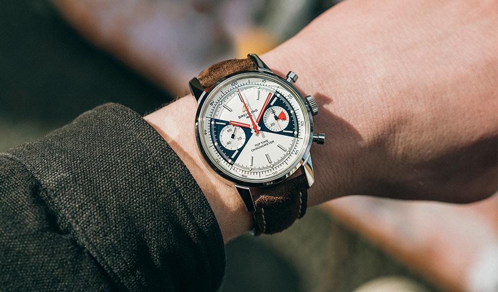 Новые наручные часы Breitling