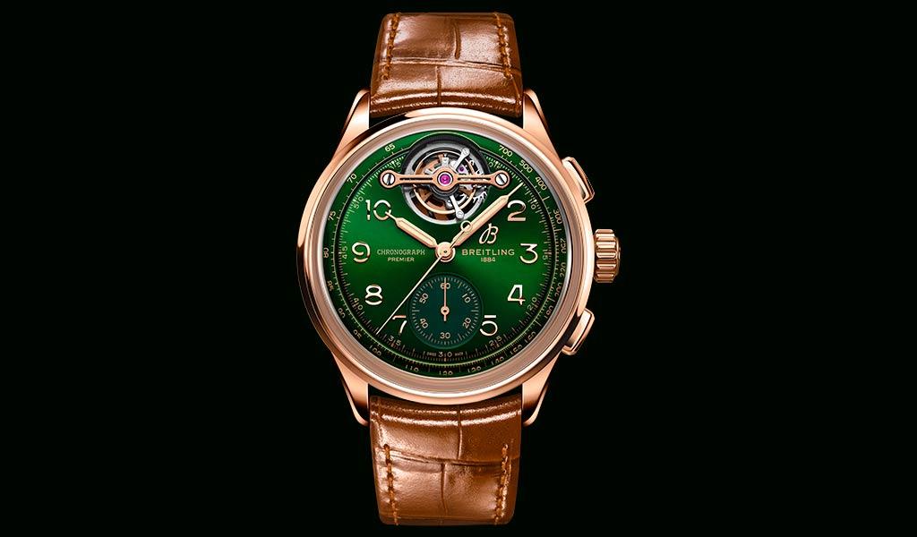 Швейцарские часы с турбийоном Breitling
