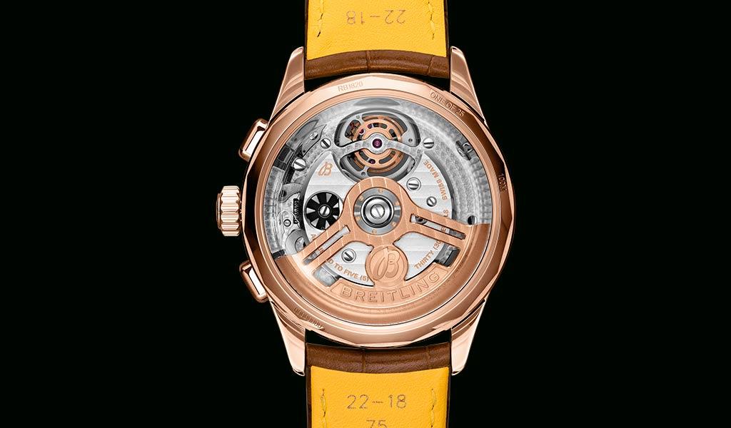 Новые часы с турбийоном Breitling