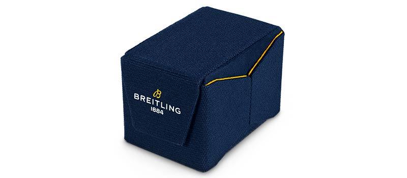 Breitling выпустил инновационную экологичную коробку для часов, созданную исключительно из переработанного пластика