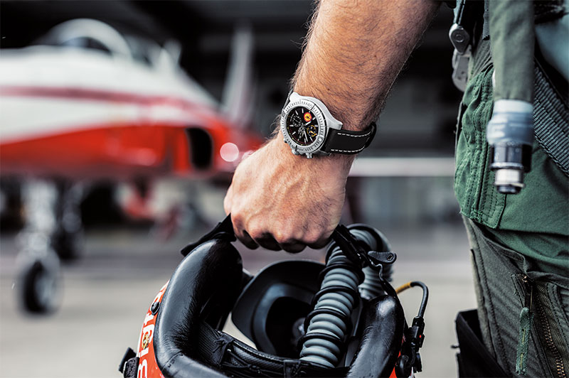 ВВС Швейцарии «Patrouille Suisse»