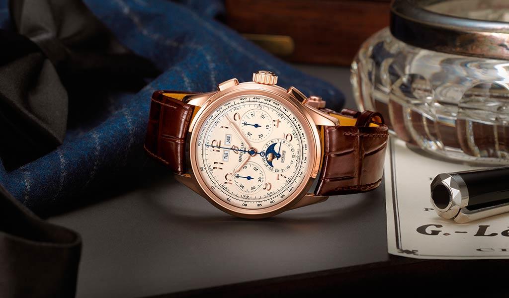Новые механические часы Breitling