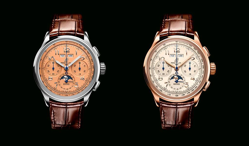 Новые механические швейцарские часы Breitling