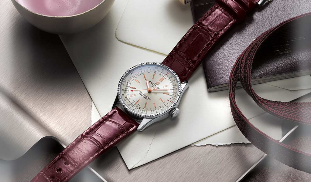 Часы женские Navitimer Automatic 35