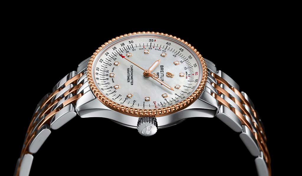 Новые женские часы Navitimer Automatic 35