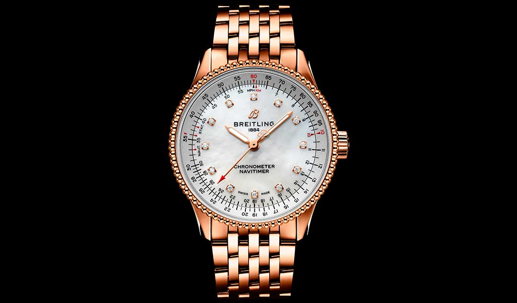 Часы наручные женские Navitimer Automatic 35