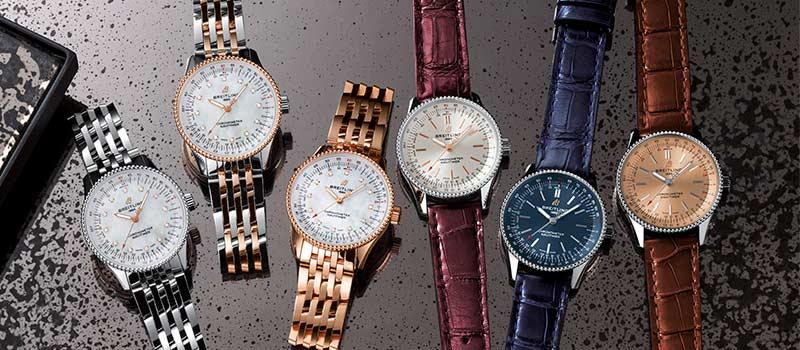 Breitling Navitimer Automatic 35 легендарные часы для женщин
