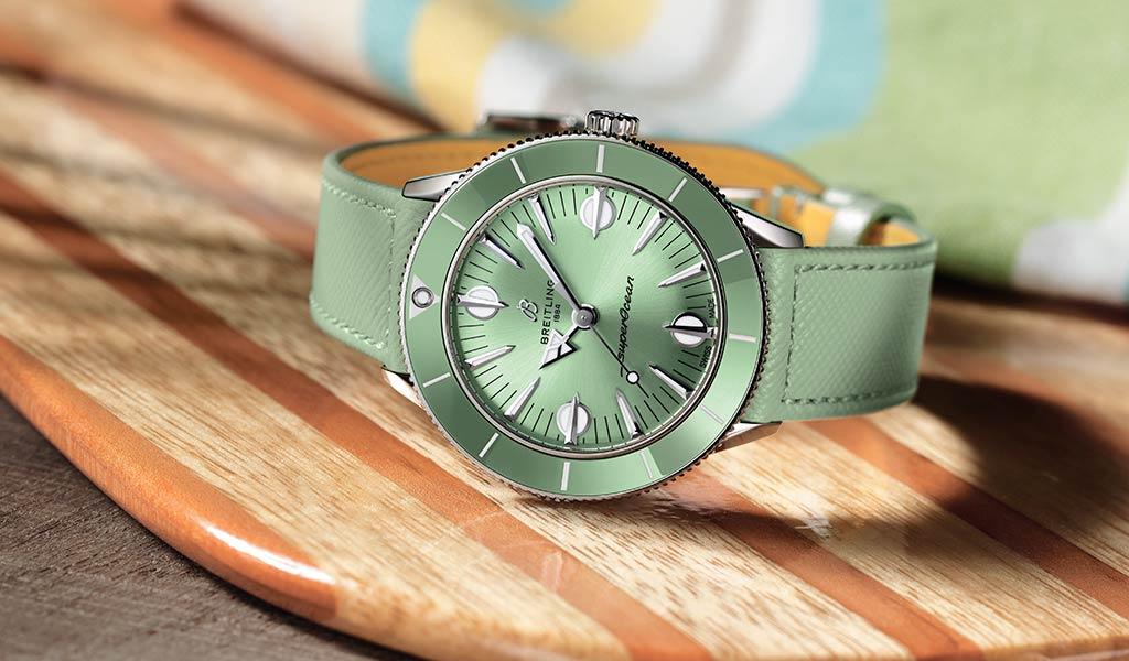 Женские швейцарские часы Breitling