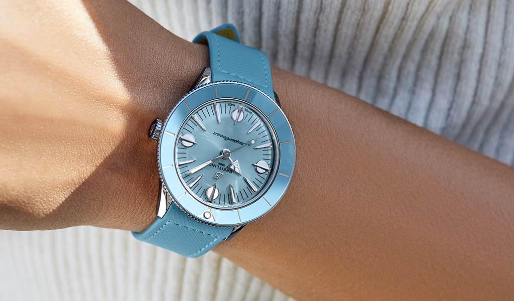 Швейцарские женские механические часы Breitling