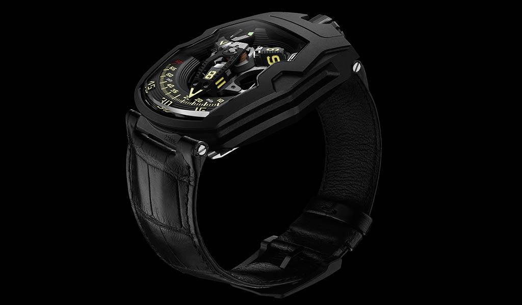 Новые наручные часы URWERK UR-220