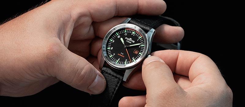 Наручные часы Fortis Flieger F-41 и F-39 Automatic пополнили коллекцию Fortis Flieger