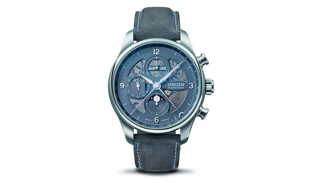 Наручные механические часы Belisar Chronograph Moon Phase