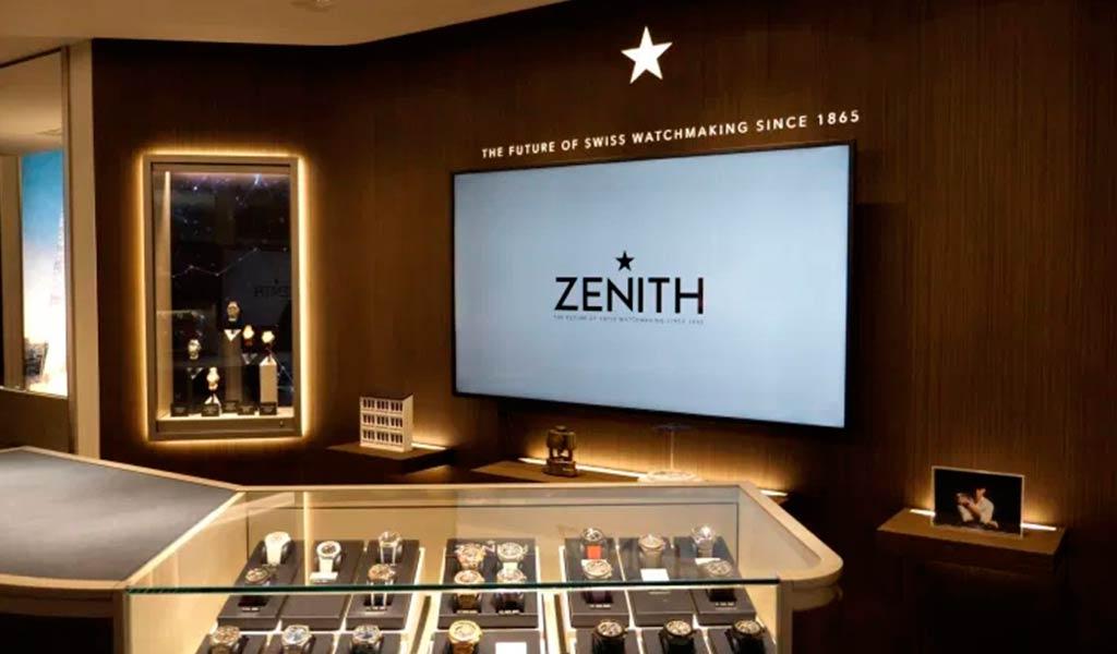 Новый бутик Zenith в Японии