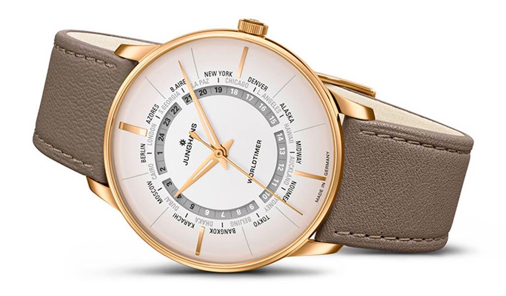 Новые механические часы Junghans