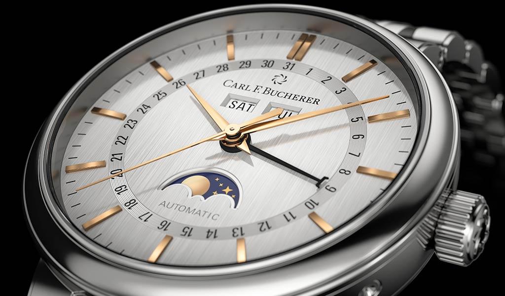 Швейцарские часы Carl F.Bucherer