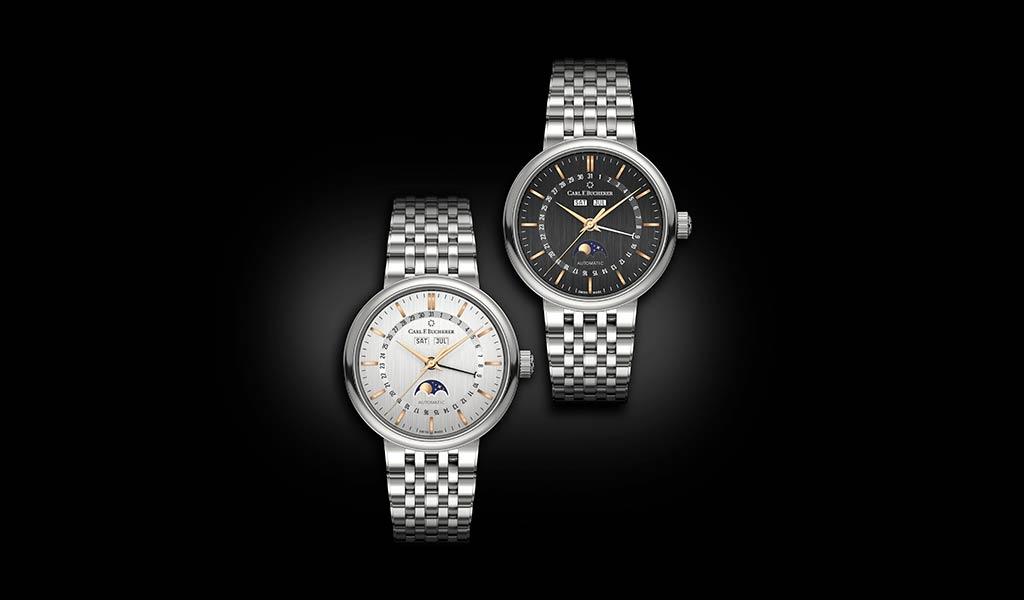 Швейцарские механические часы Adamavi FullCalendar