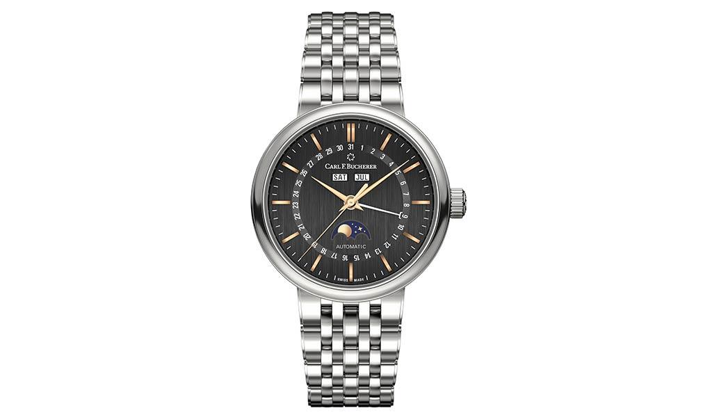 Новые швейцарские часы Carl F.Bucherer