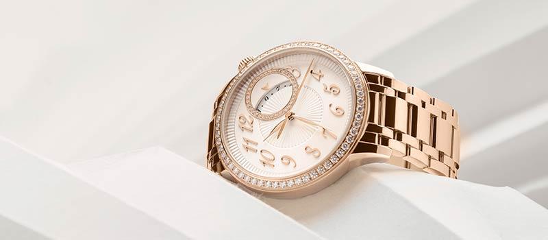 Часы с автоматическим подзаводом Egerie, полностью облаченные в золото