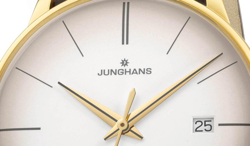 Новые наручные часы Junghans