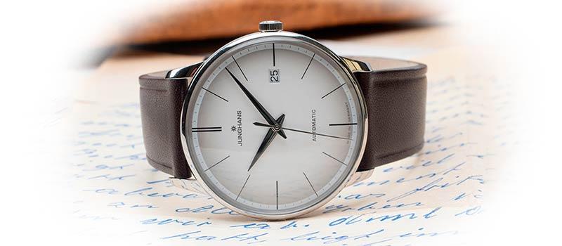 Наручные часы Meister Automatic от немецкого часового бренда Junghans