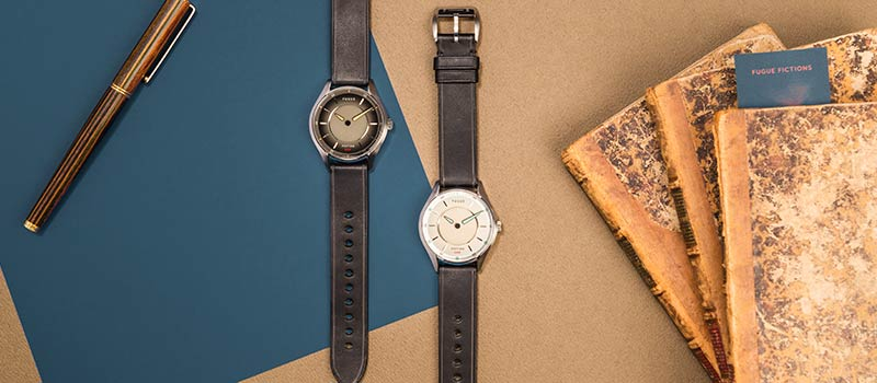 Таинственные часы Fiction One от компании Fugue