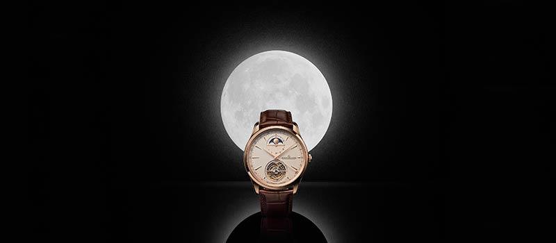 Jaeger-LeCoultre представляет новую модель часов Master Ultra Thin с указателем фаз луны и турбийоном