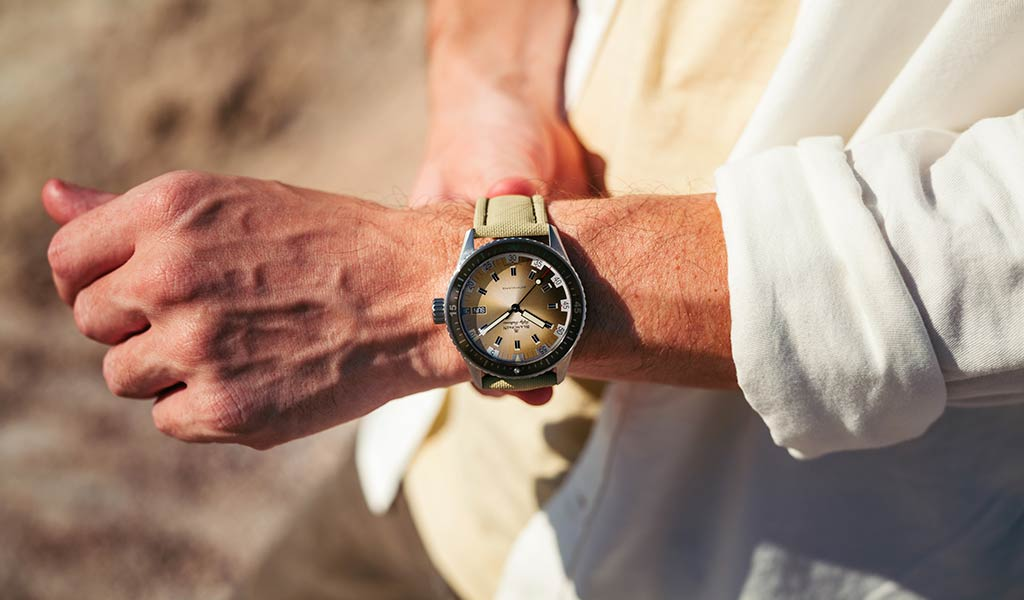 Часы для дайвинга Bathyscaphe Day Date