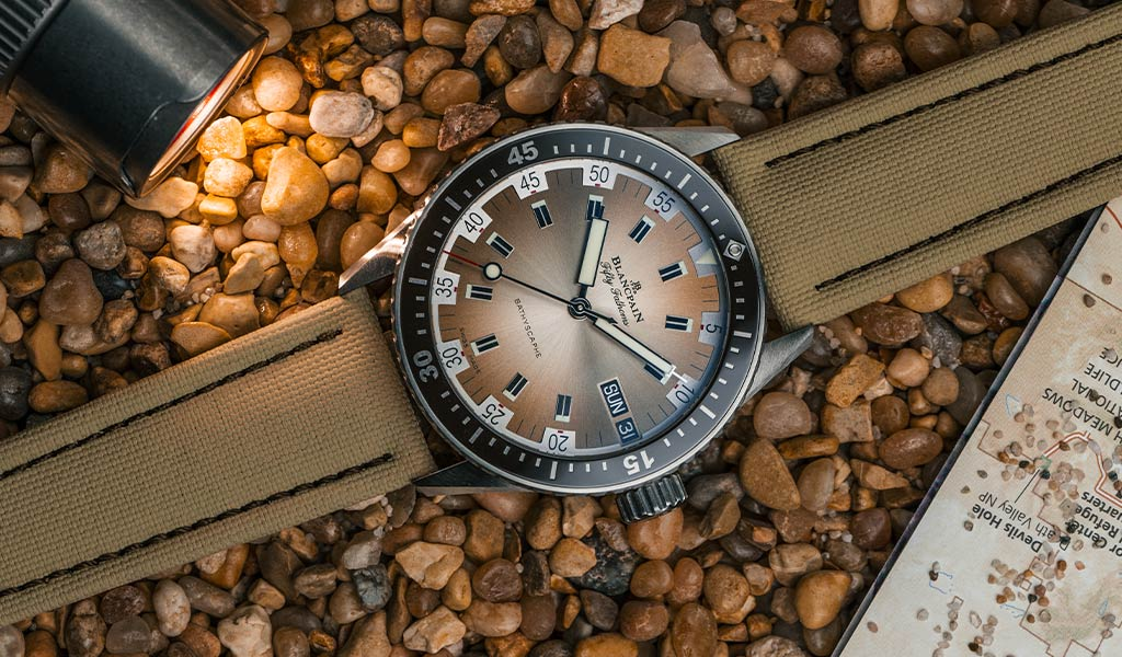 Дайверские часы Blancpain