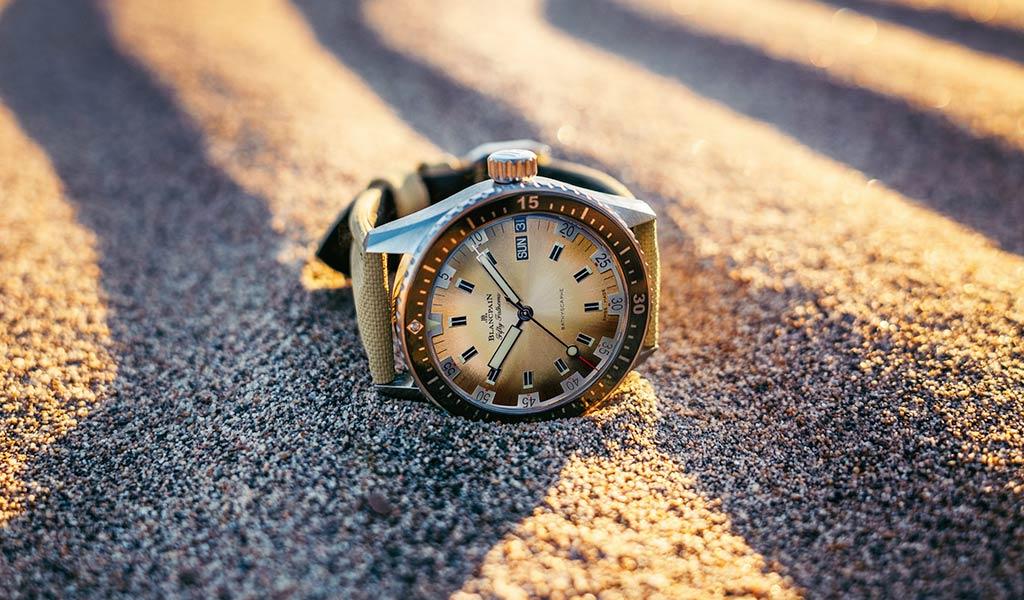 Часы для дайверов Blancpain