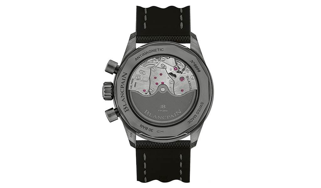 Новые наручные часы хронограф flyback Blancpain