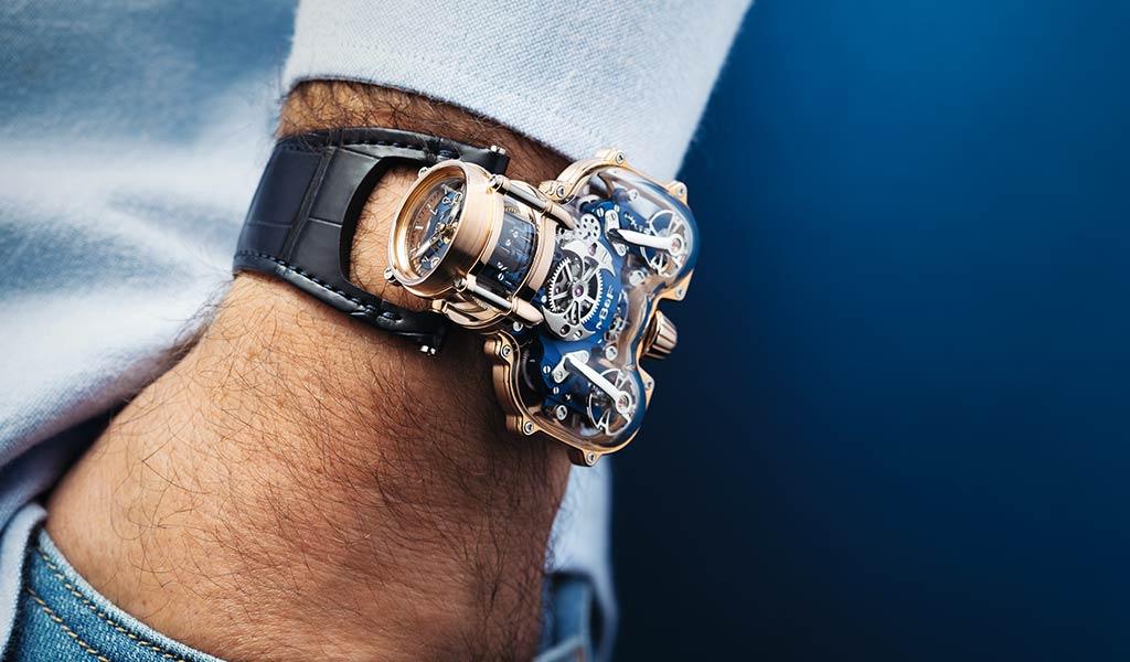 Новые часы Horological Machine N°9 Sapphire Vision