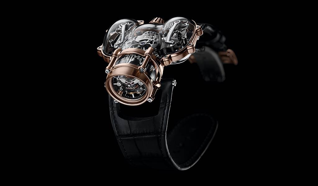 Новые механические часы HM9-SV