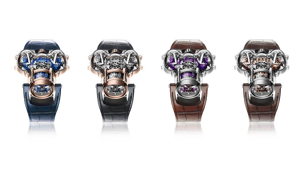 Наручные часы Horological Machine N°9 Sapphire Vision