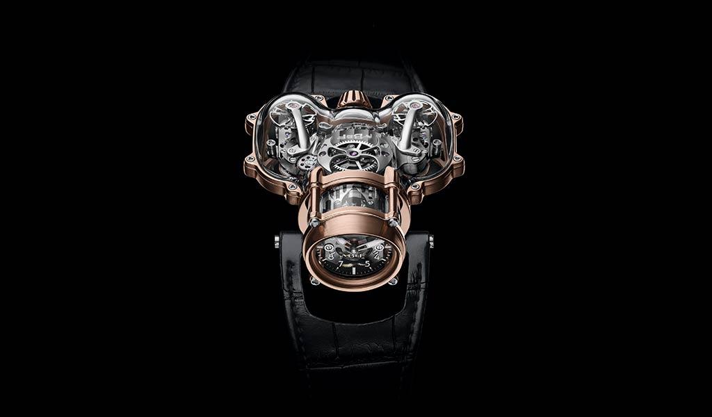 Механические часы Horological Machine N°9 Sapphire Vision