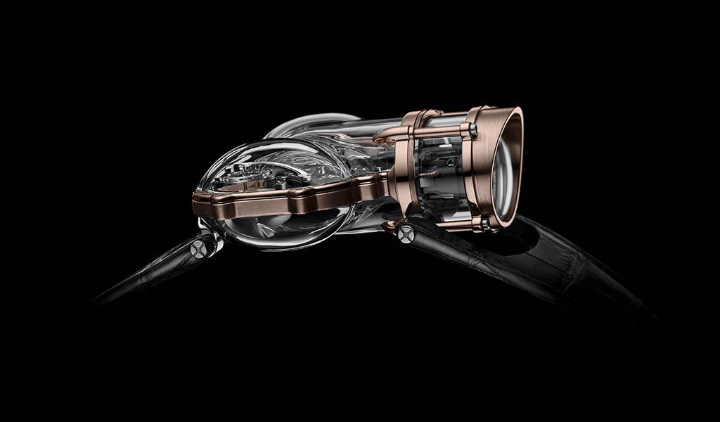 Новые наручные часы Horological Machine N°9 Sapphire Vision