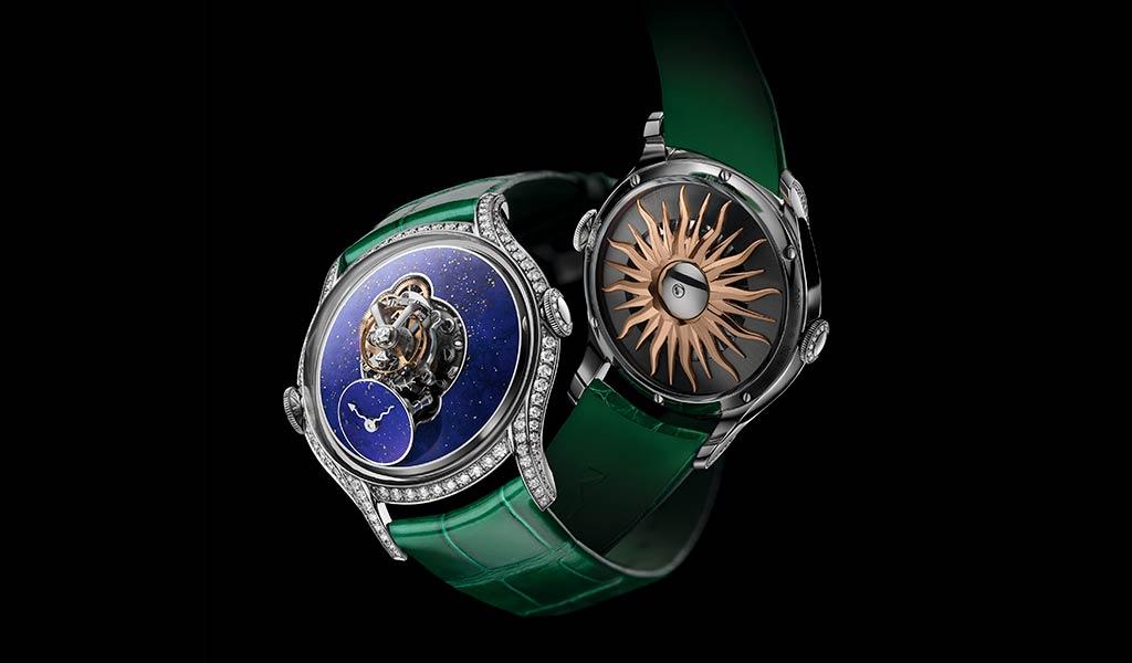 Механические женские часы MB&F