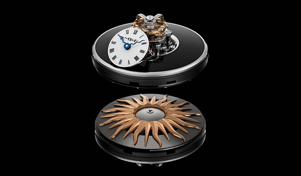 Женские часы с турбийоном MB&F