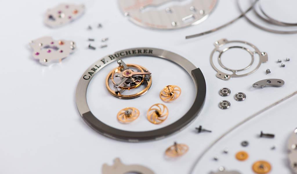 Часовая компания Carl F. Bucherer
