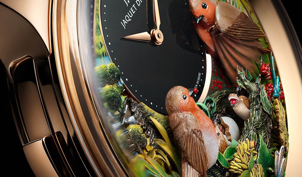 Швейцарские часы Jaquet Droz