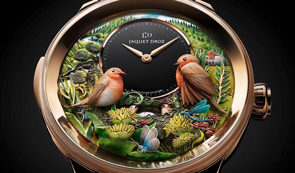 Новые швейцарские часы с усложнением Jaquet Droz
