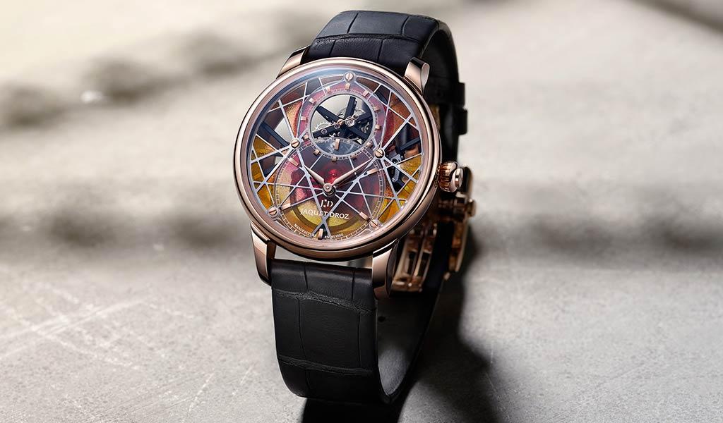 Часы для аукциона Grande Seconde Skelet-One Tourbillon