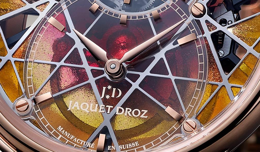 Швейцарские механические часы Grande Seconde Skelet-One Tourbillon