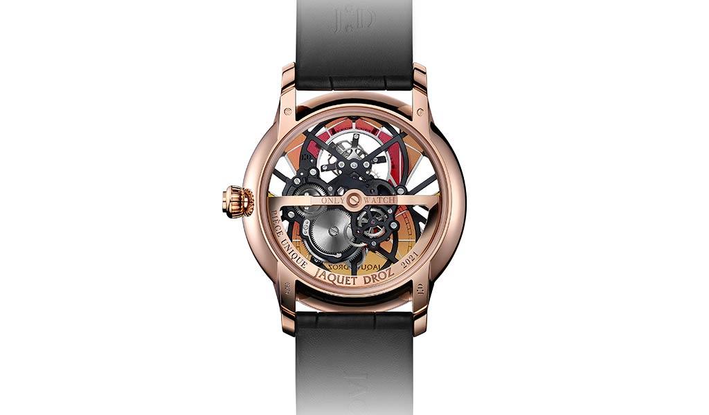 Швейцарские часы с турбийоном Grande Seconde Skelet-One Tourbillon