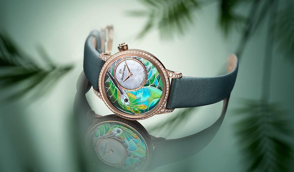 Новые механические часы Jaquet Droz