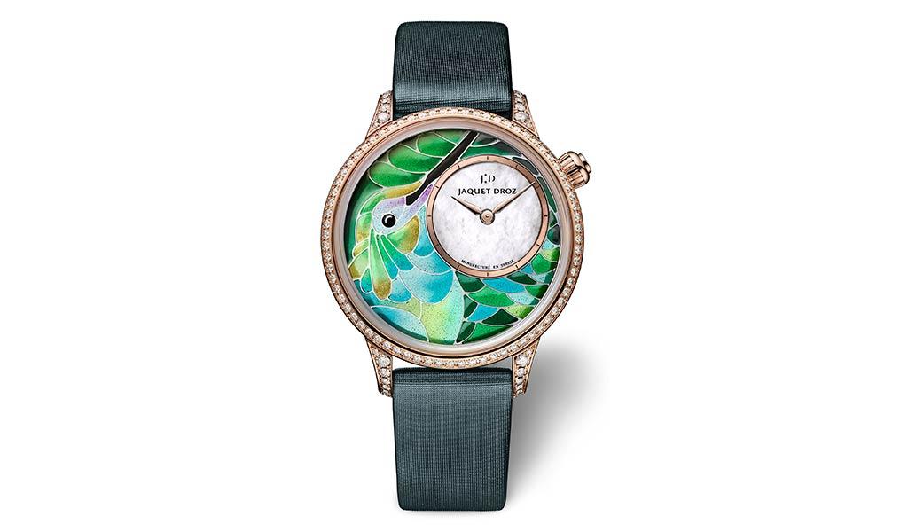 Часы с бриллиантами Jaquet Droz